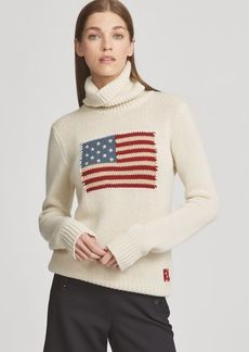 Ralph Lauren Flag Cashmere Turtleneck