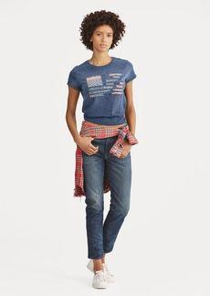 Ralph Lauren Flag Jersey T-Shirt