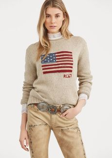 Ralph Lauren Flag Rollneck Sweater