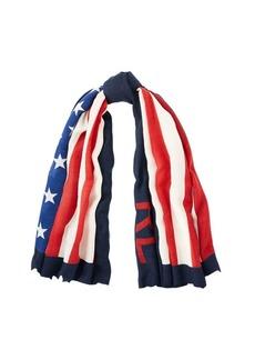 Ralph Lauren Flag Wool Scarf