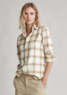 Ralph Lauren Flannel Button-Down Shirt