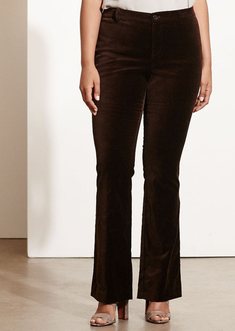 Ralph Lauren Flared Velvet Pant