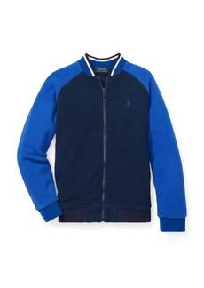 Ralph Lauren Fleece Baseball Jacket