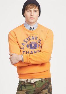 Ralph Lauren Fleece Graphic Sweatshirt