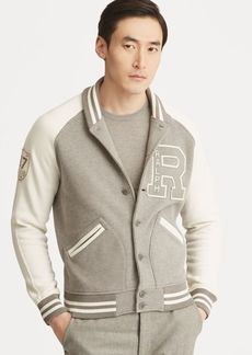 Ralph Lauren Fleece Letterman Jacket