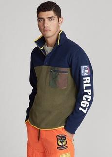 Ralph Lauren Fleece Mockneck Pullover