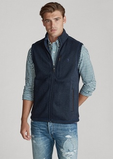 Ralph Lauren Fleece Mockneck Vest