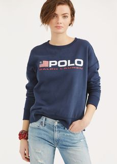 Ralph Lauren Fleece Polo Sweatshirt