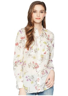 Ralph Lauren Floral Cotton Blend Shirt