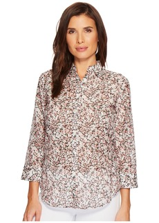 Ralph Lauren Floral Cotton-Silk Shirt