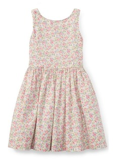 Ralph Lauren Floral Cotton Sleeveless Dress