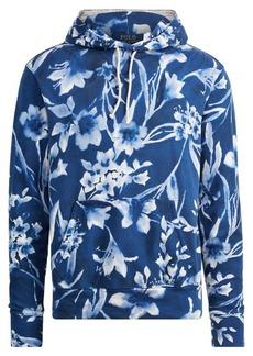Ralph Lauren Floral Cotton Spa Terry Hoodie