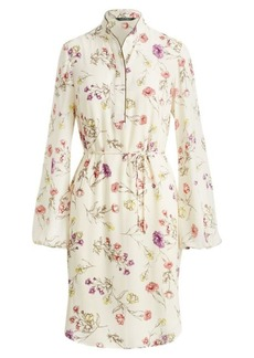 Ralph Lauren Floral Crepe Dress