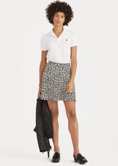 Ralph Lauren Floral Crepe Skirt