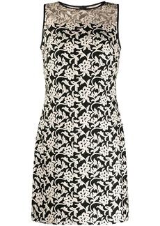 Ralph Lauren floral embroidery dress