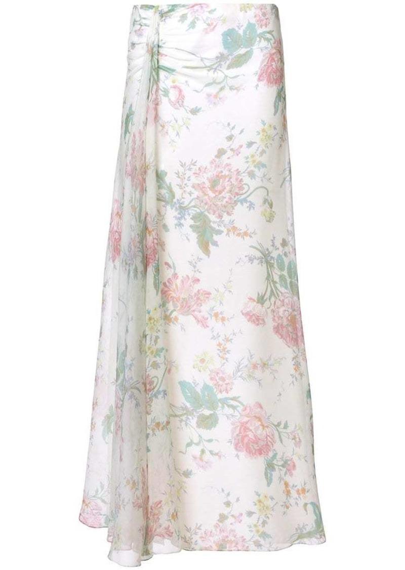 Ralph Lauren floral flared skirt