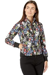 Ralph Lauren Floral French Terry Full Zip Jacket