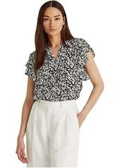 Ralph Lauren Drapey Poly GG T-Shirt