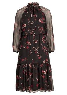 Ralph Lauren Floral Georgette Dress