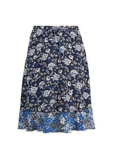 Ralph Lauren Floral Georgette Skirt
