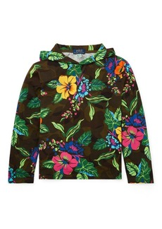 Ralph Lauren Floral Jersey Hooded Tee