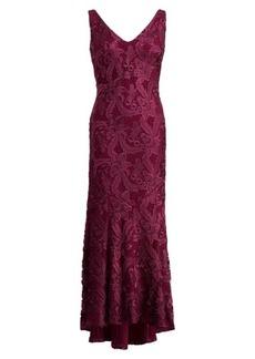 Ralph Lauren Floral Lace Gown