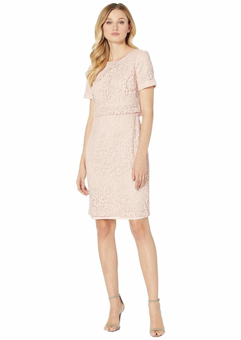Ralph Lauren Floral Lace Popover Dress