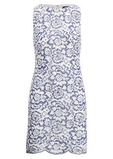 Ralph Lauren Floral Lace Sheath Dress