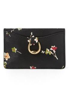 Ralph Lauren Floral Leather Card Case