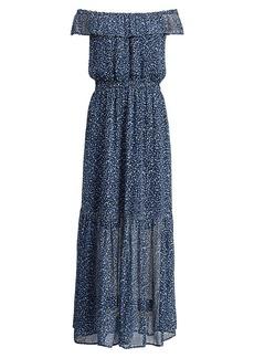 Ralph Lauren Floral Off-the-Shoulder Dress