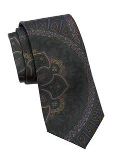 Ralph Lauren Floral Paisley Silk Tie