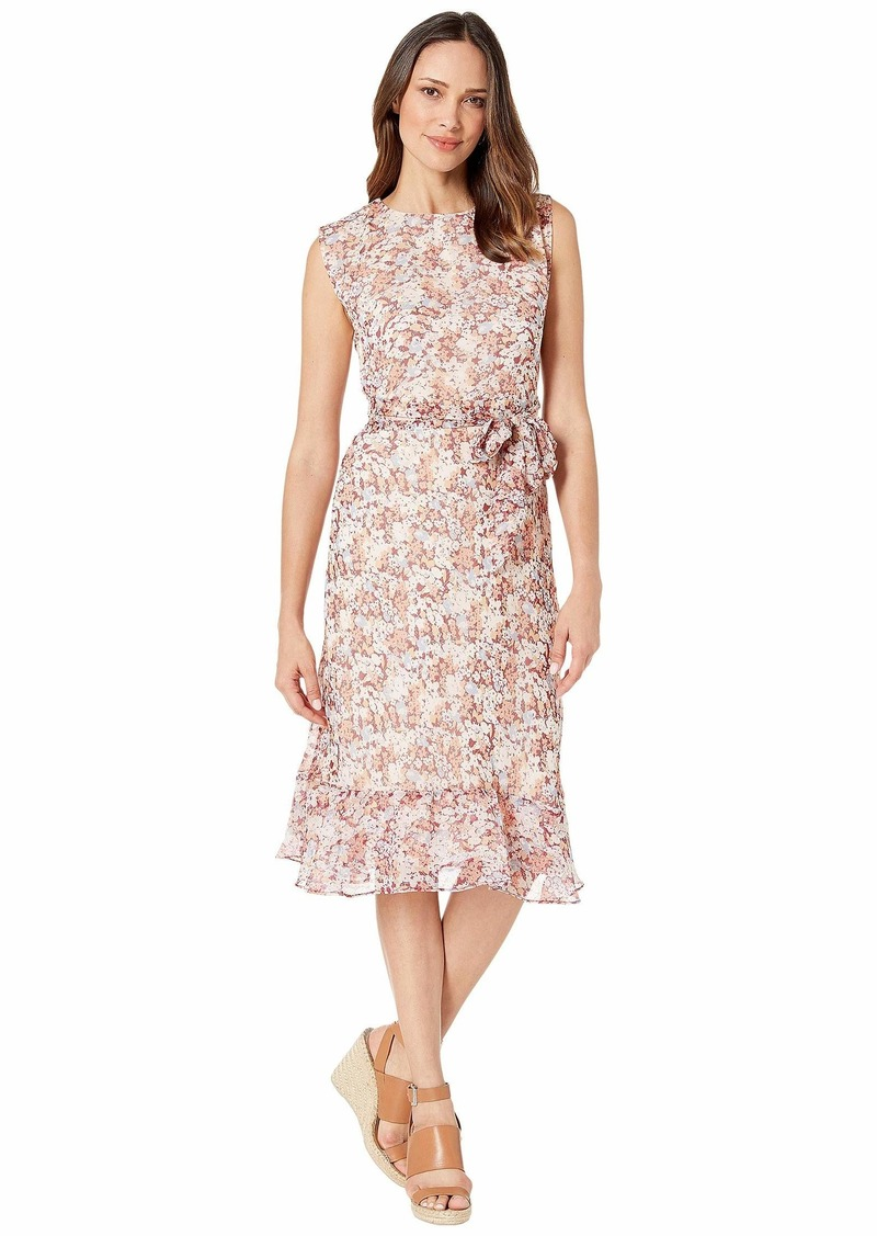 Ralph Lauren Floral-Print Georgette Dress