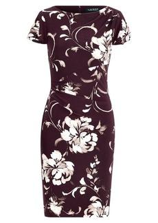 Ralph Lauren Floral-Print Jersey Dress