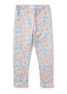 Ralph Lauren Floral-Print Jersey Legging