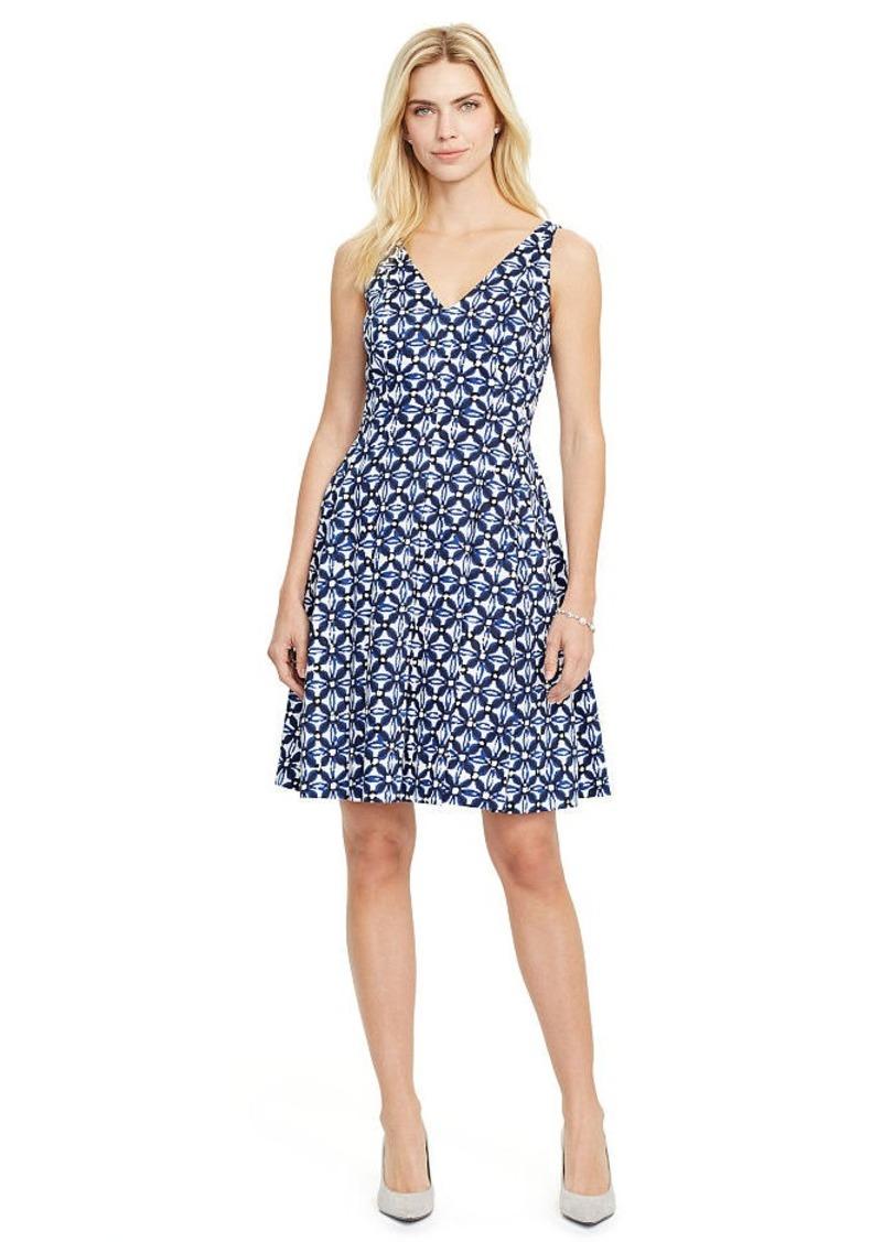 Ralph Lauren Floral-Print Sateen Dress