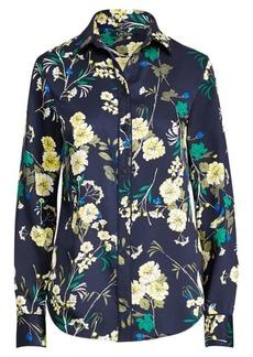 Ralph Lauren Floral-Print Sateen Shirt