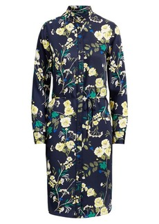 Ralph Lauren Floral-Print Twill Shirtdress