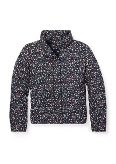 Ralph Lauren Floral Quilted Down Jacket