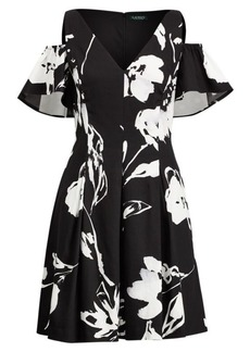 Ralph Lauren Floral Sateen Dress