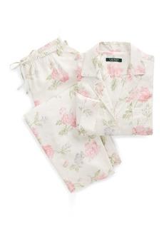 On Sale today! Ralph Lauren Satin Lace Cami Tap Pajama Set 68028d260
