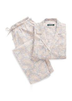 Ralph Lauren Floral Sateen Sleep Set