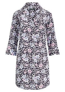 Ralph Lauren Floral Sateen Sleep Shirt