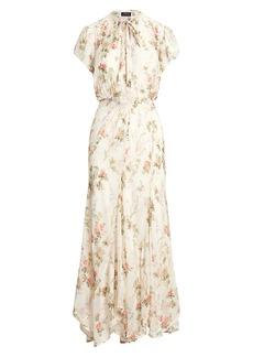Ralph Lauren: Polo Floral Short-Sleeve Dress