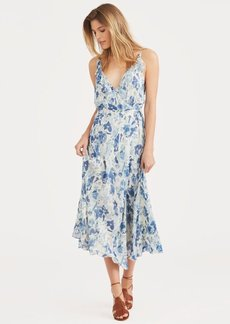 Ralph Lauren Floral Silk Wrap Dress
