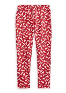 Ralph Lauren Floral Stretch Jersey Legging