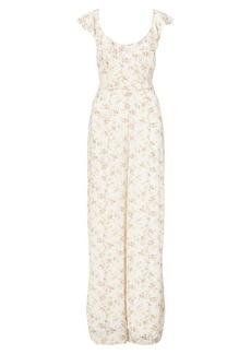 Ralph Lauren Floral Tie-Back Jumpsuit