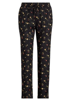 Ralph Lauren Floral Twill Skinny Crop Pant