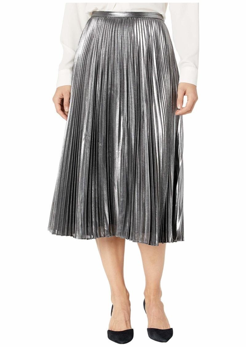 Ralph Lauren Fluid Metallic Skirt