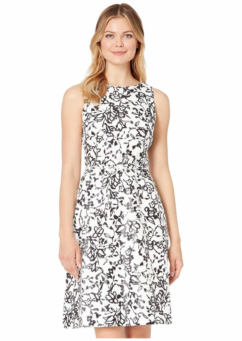 Ralph Lauren Folade Sleeveless Day Dress