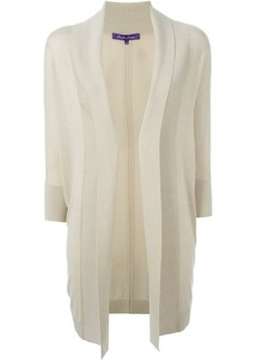 Ralph Lauren fold quarter sleeve draped cardigan coat